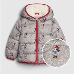 Baby Gap Disney Minnie Mouse Puffer Jacket